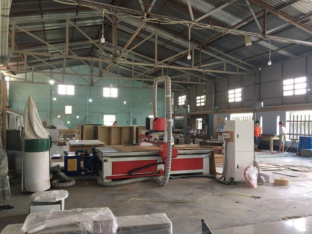 Nhà xưởng công ty Funi