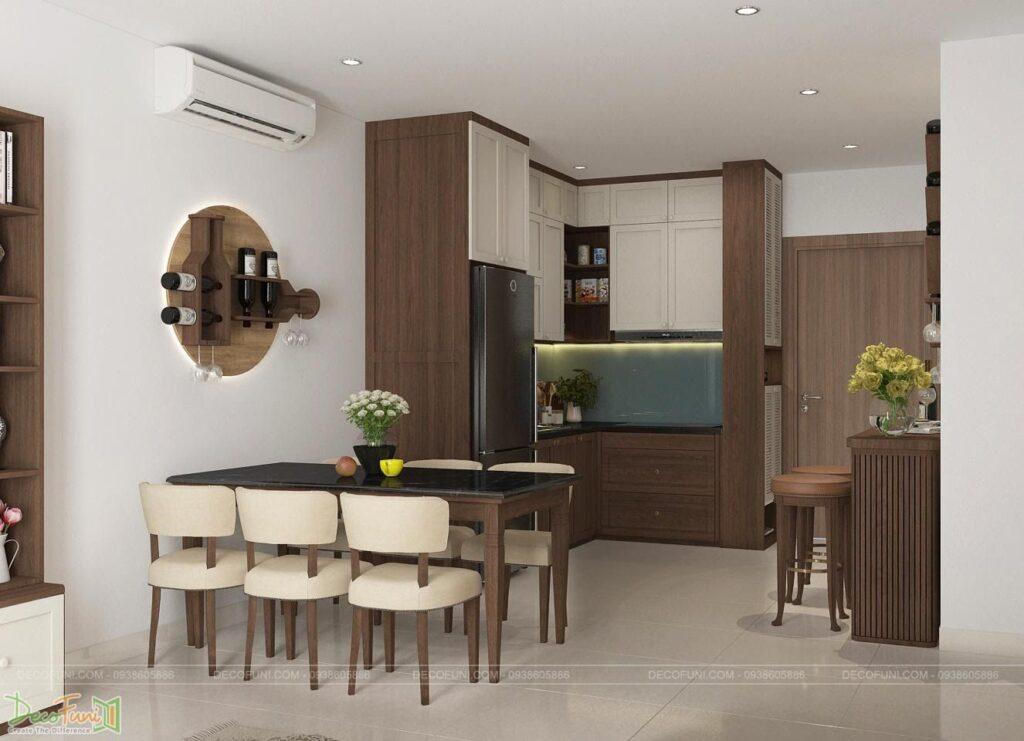 Khu bếp chung cư đẹp