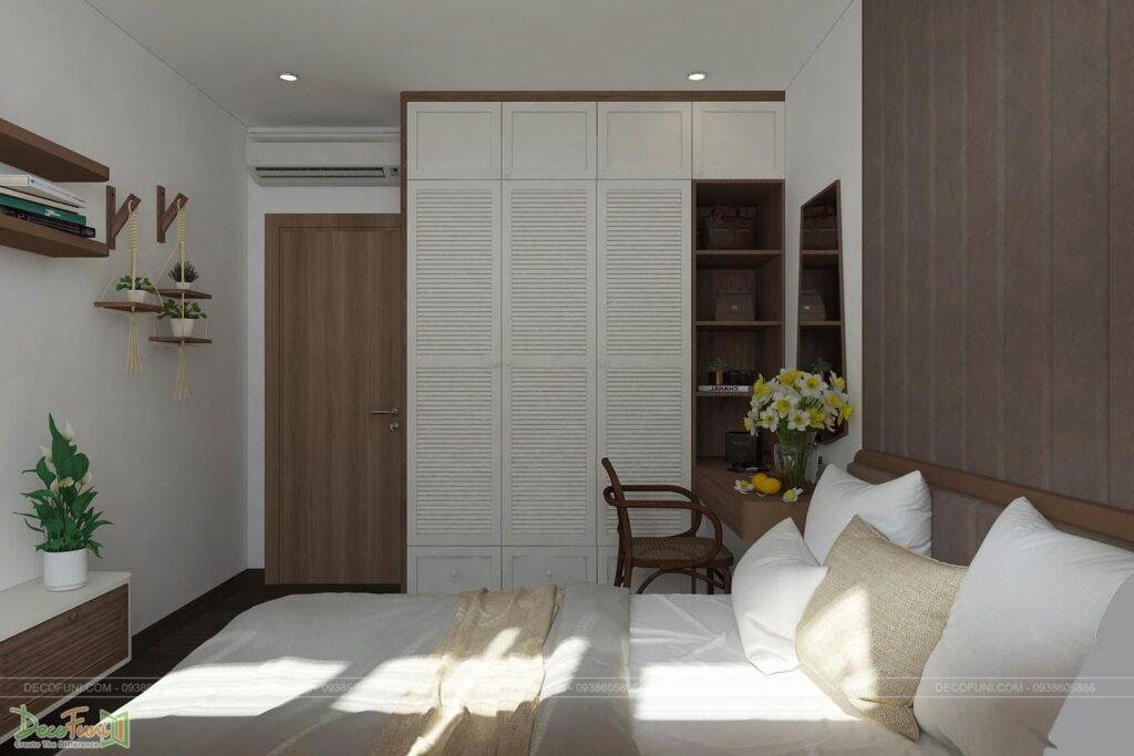 Mẫu phòng ngủ master chung cư đẹp