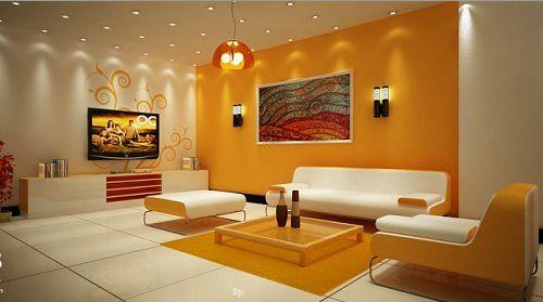 Phối màu sơn nội thất hài hòa sẽ giúp mang đến một giông gian sống ấn tượng
