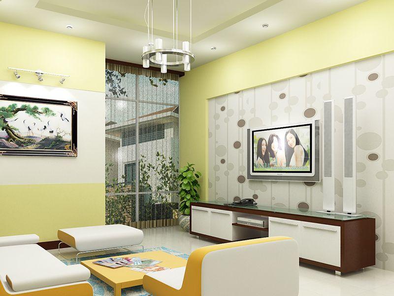 Bí quyết lựa chọn màu sơn trang trí phòng khách