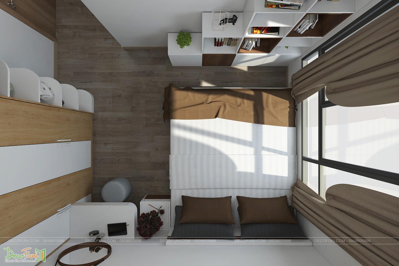 Mẫu căn hộ nhỏ 30m2 đẹp