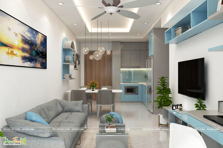 Thiết kế nội thất căn hộ cần quan tâm những gì?