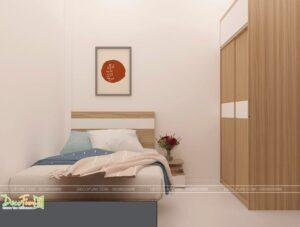 bố trí đồ nội thất phòng ngủ kín đẹp