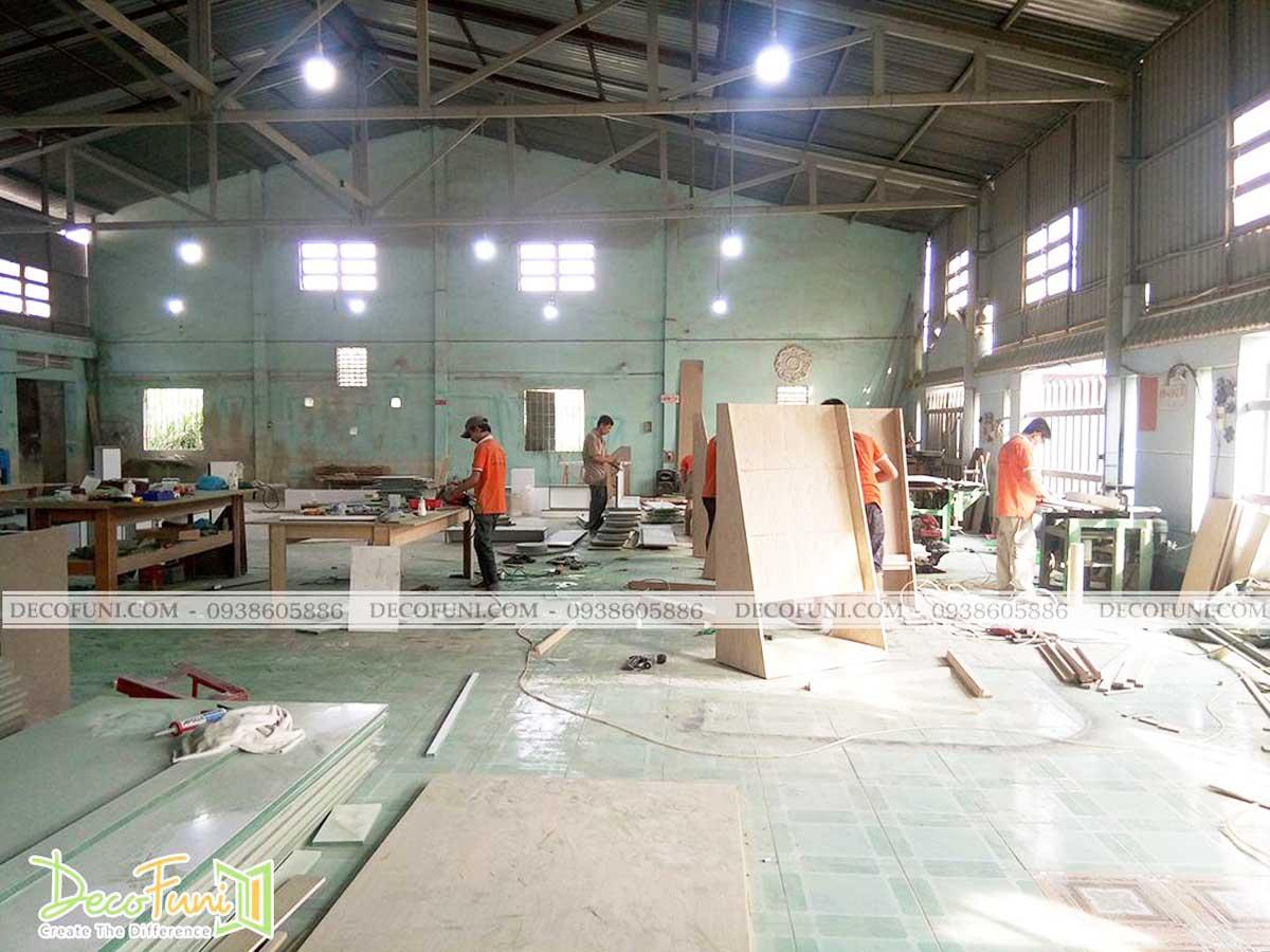 DecoFuni là đơn vị thiết kế thi công nội thất uy tín tại TP.HCM và các tỉnh lân cận