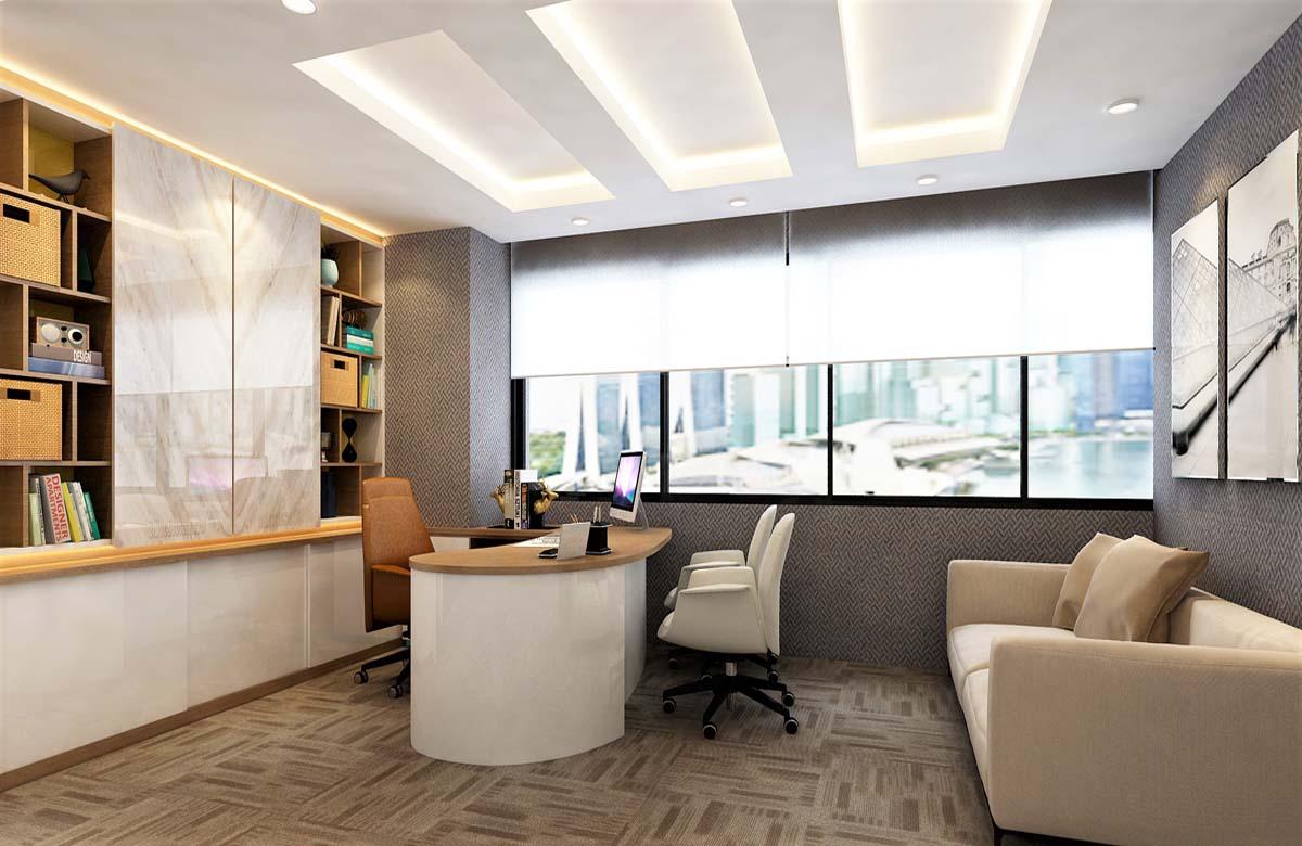 Thiết kế văn phòng công ty luật đẹp