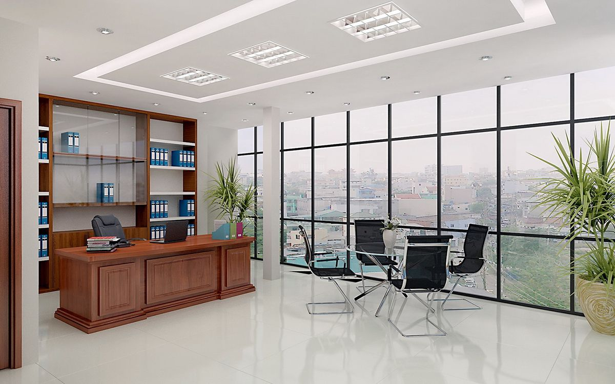 Mẫu thiết kế văn phòng diện tích nhỏ đẹp