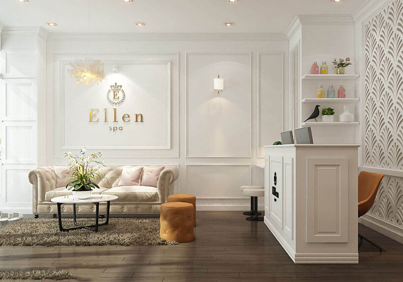tư vấn lựa chọn sofa phòng khách cho spa đẹp