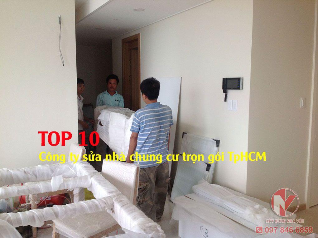 TOP 10 công ty sửa nhà chung cư trọn gói tphcm